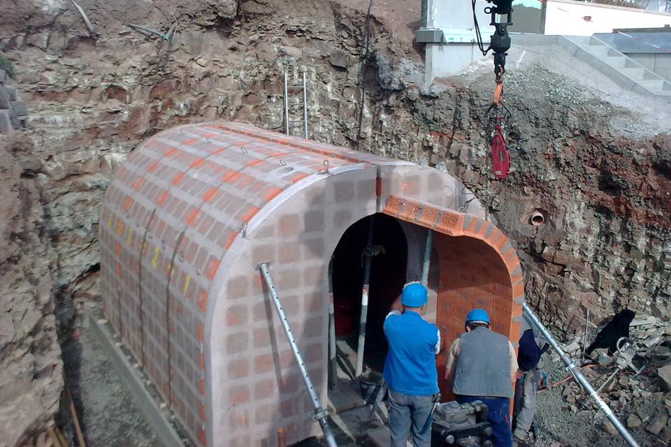 Weinkeller gewölbe bauen  Planung des Gewölbekellers - Gewölbekeller